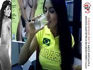 Aline Bernardes - Twitcam 2 Revista Sexy Pt 1