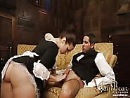 Butler And French Maid Fuck