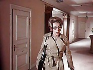 Vintage Hairy Glasses Nerd Swedish Secretary