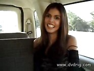 Brunette Girl Shy Love Hops In A Van And Rewards Drivers Friend