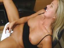 Wife Masturbates While Her Man Jerks