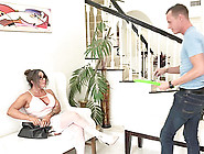 Steamy Titty Fuck And Pussy Drilling With Luscious Simone Garza