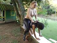 Domme Punishes Slave Ponygirl 5