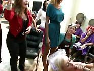 Party Inside A Salon