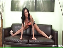 Flexible Alexa Aimes Does Splits And Strips