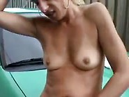 Hooker Fucked And Facialized Outdoors