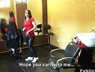 Amateur Hairdresser Fucks For Cash