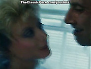 Vintage Blonde Guzzles Hard Cock And Gets Her Hairy Punani Fucke