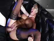 Milf Dreams About Having Her Shaved Twat Fucked By A Masked Prin