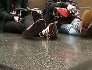 Shoes In Corridor