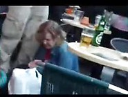 Drunk Lady Peeing In Front Of Everybody