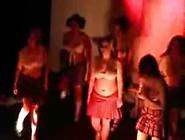 Burlesque Schoolgirl Striptease School Initiation