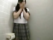 Exhibitionist Japanese Girl In Public Toilets