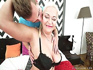 Old Blonde With Juicy Boobs Betsy B Is Fucked By Hot Tempered Yo