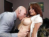 Super Horny Brunette Milf Monique Alexander Gets Fucked And Faci