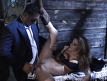Kayla Paige Kills Time Blowing Guys Stiff Worm