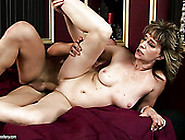 Spoiled Short Haired Mature Slut Gets Her Cunt Banged From Behin