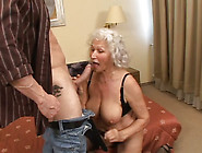 Plump Grey Haired Curly Oldie Gives Terrific Bj And Fucks In Dog