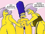 Simpsons And Griffins Hardcore Orgy