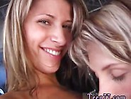 Lesbian Circle Hd Friends Getting Humid Together