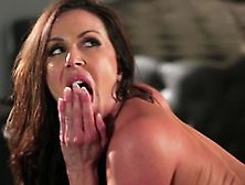 Kendra Lust Fingers Her Ass As Her Pussy Gets Shafted