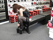 Milf Trying Heels