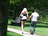 Sensual Emotions About A Attractive Blonde Shyra Sheer