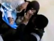 Indonesia- Jilbab Hijab Ciuman Di Pinggir Jalan