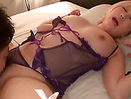 Japanese Blonde Kinami Hina Wearing Sexy Lingerie And Getting Bo