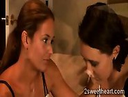 Beautiful College Babe Comforts Her Lonely Stepmommy