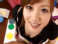 Artistic Miyu Hoshino Loves Sucking Cock While On Her Knees