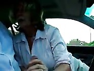 Horny Mom Gives Bj In The Car