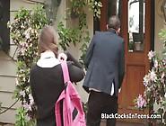 Fat Black Dick In Brunette Teen