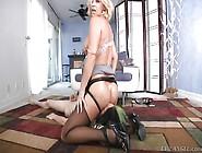Horny Milf Gets Dirty In Bedroom @ Milf Strap #02