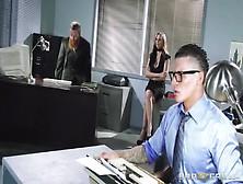 Milf Slut Fucked In The Office