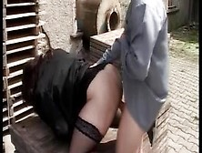 German Bbw Will Be Smashed By A Horny Pervert