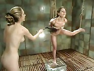 Lewd Dolls Lena Ramon Enjoys Being Tormented Inside The Bathtub
