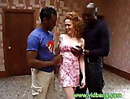 Redheaded Milf Fucked By Black Guys