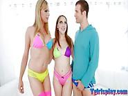 Big Boobs Tranny Eva Cassini And A Guy Tag Teamed Sexy Babe