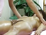 Intense Japanese Massage With A Stunning Hottie Getting Fingered