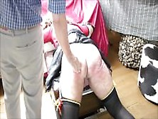 Hard Spanking Crossdresser