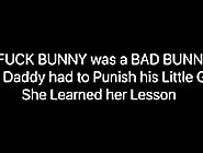 Alexa Was A Bad Little Girl Her Daddy Punished Her!