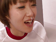 Short Haired And Flexi Slut Akina Hara Is Giving Blowjob