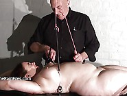 Nipple Tortured Crying Fat Slaveslut On Punishment Rack