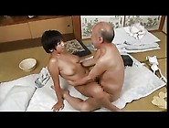 Old Man & Young Japanese Girl - Meguru Kosaka