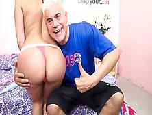 Aleksa Nicole, Porno Dan In Aleksa Nicole's Ass Go Hula Hoop! Vid