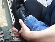 (Pov) Boot Licking F*g Worships Jock Feet