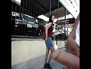 Video De Flagra Na Rua Do Cara Mostrando O Pau A Novinha
