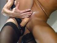 Two Hot Big Haired Babes Have Some Lesbian Fun