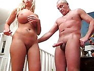 Teen Hand Job On A Grandfather
